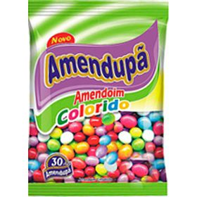 AMENDOIM-AMENDUPA-COLORIDO-100G